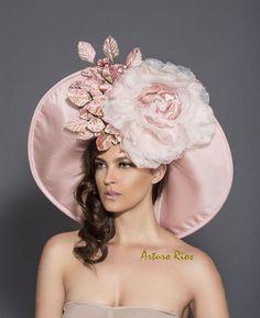 Blush Pink/Mauve Kentucky Derby Hat Classic Derby by ArturoRios