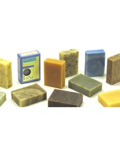 Each handcrafted natural bar soap is made without harmful chemicals to give you a good clean.