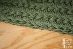 Hairpin Lace Part 4 of 4: Finishing Your Project