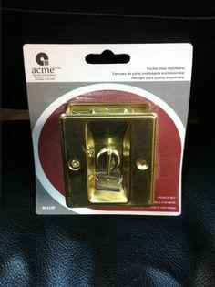 Acme POCKET DOOR HARDWARE PASSAGE OR PRIVACY SET BRASS FINISH PD116P PD117P NEW Pocket Door Hardware, Pocket Doors, It Is Finished, Brass, Ebay, Sliding Door, Folding Doors, Copper