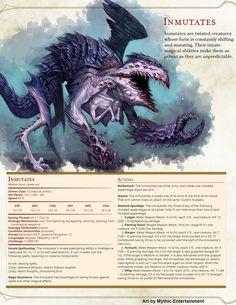 Inmutates #Demon #CR 7 #Spellcaster