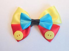 Pinocchio Hair Bow Disney Inspired by bulldogsenior08 on Etsy, $7.00