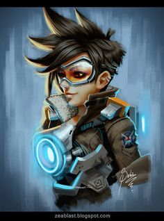 Overwatch fan art by Zeablast on deviantART