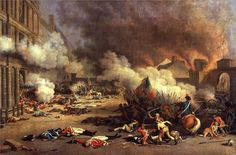 The Storming of the Tuileries Palace on 10 August 1792 - Jean Duplessis-Bertaux, 1973