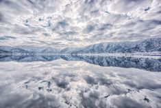 """Lake Yogo, called """"The lake of Mirror"""", sometimes reflects everything in front of you."""