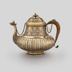 Chitra Collection (@tea.museum) • Instagram photos and videos Silver Teapot, Clay Pots, Metal Chain, How To Find Out, Exotic, Porcelain, Photo And Video, Tableware, Museum