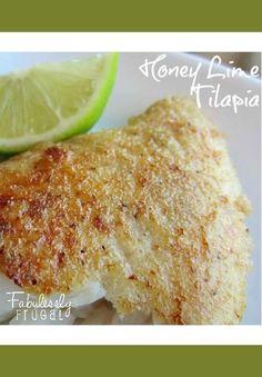 honey lime tilapia fish recipe