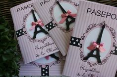 Adorable passport party invites, perfect for a Paris themed quinceanera: http://www.quinceanera.com/decorations-themes/paris-themed-quince/?utm_source=pinterest&utm_medium=article&utm_campaign=122014-paris-themed-quince