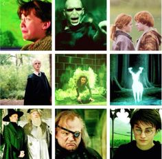 Harry Potter - We Heart It - Shades Of Green