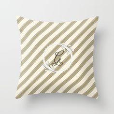 Elegant Grimstad 1 Throw Pillow by prdart Elegant, Designer, Modern, Beige, Throw Pillows, Home Decor, Classy, Cushions, Homemade Home Decor