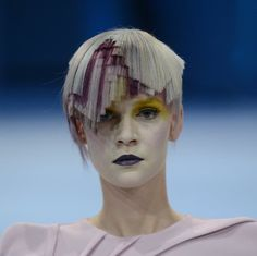Interpretation of the 2013 Haute Couture trend FUSION #hair #beauty