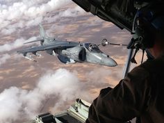 Oct. 11, 2012: An AV-8B Harrier aircraft is refueled.  Source: DoD/Capt. Staci Reidinger, U.S. Marine Corps