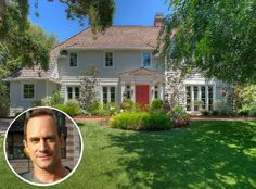 """Chris Meloni Is Selling the Former """"Ozzie and Harriet"""" House - Hooked on Houses Lynn Whitfield, Sherman Williams, Early American Furniture, Chris Meloni, Teen Celebrities, New Homeowner, Hollywood Hills, Indoor Outdoor Living, Celebrity Houses"""