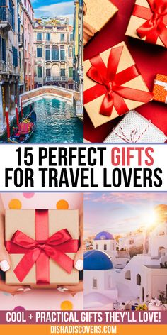 Practical gifts that travelers will love.