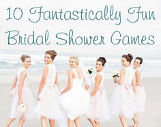 QB Blog > 10 Fantastically Fun Bridal Shower Games