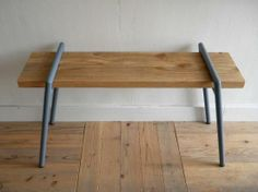 BOLTS HARDWARE STORE ボルツハードウェアストア WORK BENCH LEG スレートブルー 脚のみ - 良質な道具とアパレルの通販サイト|FUSSA GENERAL STORE Dining Bench, Furniture, Home Decor, Dining Room Bench, Decoration Home, Room Decor, Home Furnishings, Arredamento, Interior Decorating