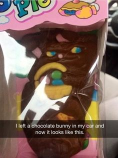 Good grief. You're a mean one....Mr. Easter Bunny