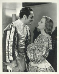 Greta Garbo and John Gilbert in Queen Christina directed by Rouben Mamoulian, 1933