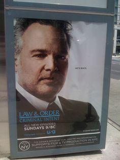 """Law & Order: Criminal Intent"" -- NYC, June 2011"