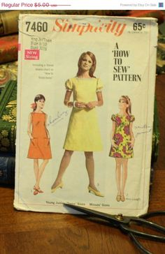 50 Fall Pattern Sale Simplicity 7460 Pattern by EleanorMeriwether