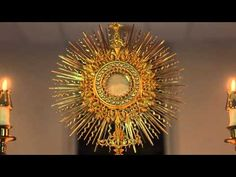 Eucharistic Relection – Stay Near The Sacred Host – I Thirst for Your Love!