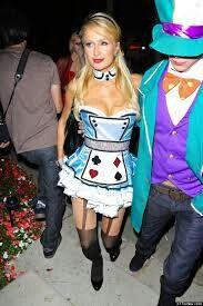 Paris Hilton as a sexy Alice
