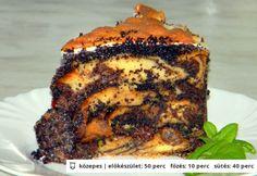 Rakott mákos guba Hungarian Recipes, Guam, Meatloaf, Banana Bread, Cake Recipes, French Toast, Pork, Sweets, Beef