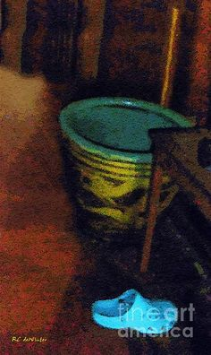 """""""Blue Shoe"""" ~ © 2015 RC deWinter ~ All Rights Reserved"""