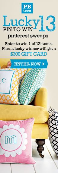 Enter to win!   Brittany Haywood  http://pinterest.com/mindlessbrit/    you guys have amazing products by the way :)