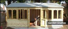 Studio Shed | Home Fencing & Steel Fencing Decking, Landscaping & Paving Sheds ...