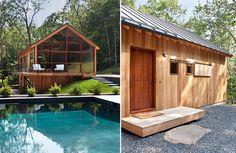 Quand le design rencontre la nature cela donne Hudson Woods ! Située dans l'État de New York, en plein coeur de la forêt des Catskill, cette réside...