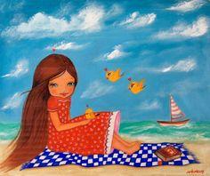 Summer illustration by Ankakus