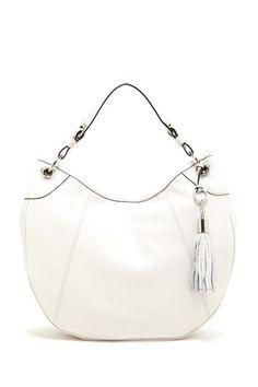 Key Item Leather Hobo by Calvin Klein on @HauteLook