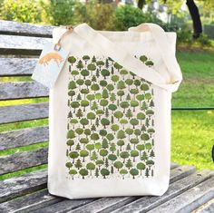 Packing up orders today - lovely to see some of my woodland trees #tote #bags heading out to new homes! Ceridwen Hazelchild Design