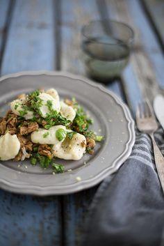 Hemlagad gnocchi med svamp, recept här: http://martha.fi/sv/radgivning/recept/view-93381-4519