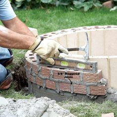 How to Build a DIY Fire Pit — The Family Handyman Fire Pit Base, Easy Fire Pit, How To Build A Fire Pit, Fire Fire, Concrete Fire Pits, Fire Pit Backyard, Fire Pit Dimensions, In Ground Fire Pit, Fire Pit Plans