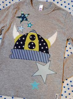 """Kindershirt, Geburtstagsshirt """"kleiner Wikinger"""""""