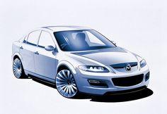 Mazda6 MPS concept. 2002.