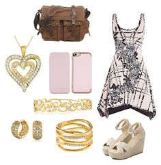 """""""Untitled #11"""" by nsommers15 on Polyvore featuring Hervé Léger, WithChic, Ted Baker, Effy Jewelry, Bling Jewelry and Accessorize"""