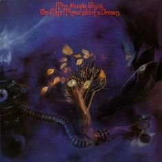 The Moody Blues - On the Threshold of a Dream - album cover