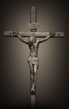 My attempt at depicting Jesus being crucified on the cross, as biblically accurate as I could. Jesus Christ Images, Jesus Art, Religious Images, Religious Art, Christus Tattoo, Holy Week In Spain, Sequoia, Jesus Drawings, Jesus Tattoo