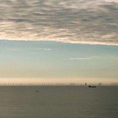 #Cromer #cromerpier #windfarm #sunset #norfolkcoast #vsco #vscocam #iphonex #iphoneography