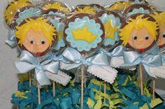 .: Pirulitos de chocolate do Pequeno Príncipe.