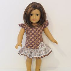 American Girl Doll Clothes  Vintage Inspired by AmericAnnMade, $18.00