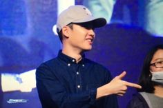 D.O - 160528 Hat's On fanmeeting Credit: Wish Boy.
