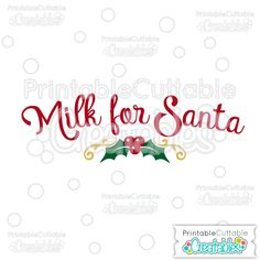 Milk for Santa FREE SVG Cutting File Design - Free SVG Files, SVG, Cricut Explore, Cricut, Silhouette, Silhouette Cameo, Silhouette Portrait, Free SVG cuts, Eclips, Cutting Files, Make the Cut, Sure Cuts a Lot, SCaL, and other electronic craft cutting machines for scrapbooking, card making, paper crafting, and more! #christmasplatesvg