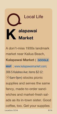 Oahu Things To Do, Kailua Beach, Best Coffee, Ads