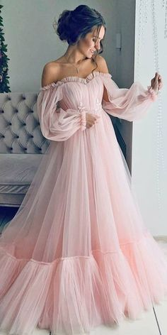 Wedding Dresses Mermaid Strapless 30 Disney Wedding Dresses For Fairy Tale Inspiration Prom Dresses Long Pink, Disney Wedding Dresses, Prom Dresses Long With Sleeves, Elegant Prom Dresses, Cheap Evening Dresses, Tulle Prom Dress, Cheap Prom Dresses, Mermaid Dresses, Modest Dresses
