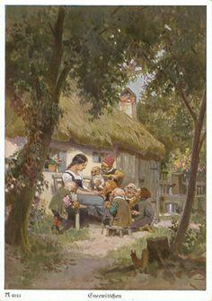 Paul Hey, Sneewittchen, F. A. Ackermann's Kunstverlag in München