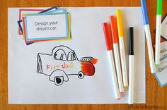 Print these free drawing challenge cards and play a simple drawing game to keep your kids busy
